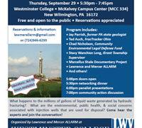 Shale Waste Disposal Workshop: Community Concerns on Injection Wells