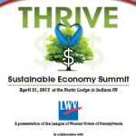 2017 THRIVE: Sustainable Economy Summit
