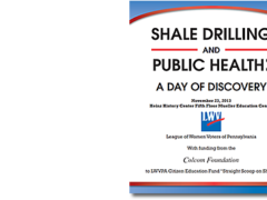 2013 Conference Summary: Shale Drilling and Public Health: A Day of Discovery