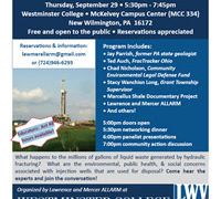 Shale Waste Disposal Workshop: Community Concerns on Injection Wells
